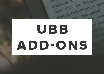 Ultimate Book Blogger Add-Ons