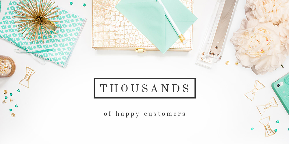Thousands of happy customers
