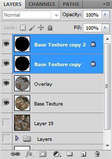 Planet Base Layers List