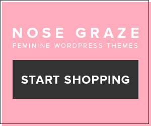 Nose Graze - Feminine WordPress themes
