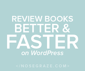 Review books better and faster on WordPress (Affiliate link)