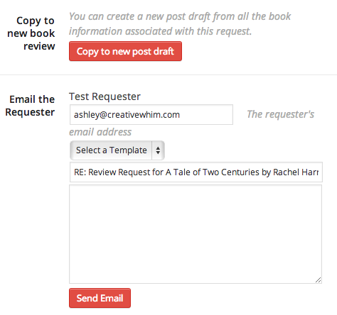 Your review request tools