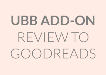UBB Review to Goodreads Add-On