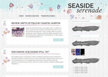 Seaside Serenade Theme