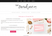 Tweak Me v2 theme for WordPress