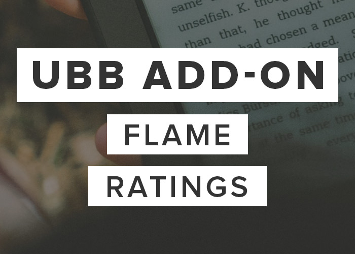 UBB Flame Ratings Add-On