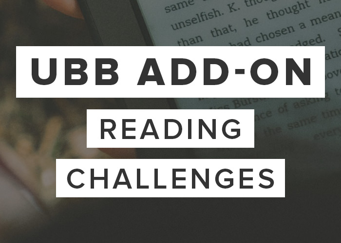 UBB Reading Challenges Add-On
