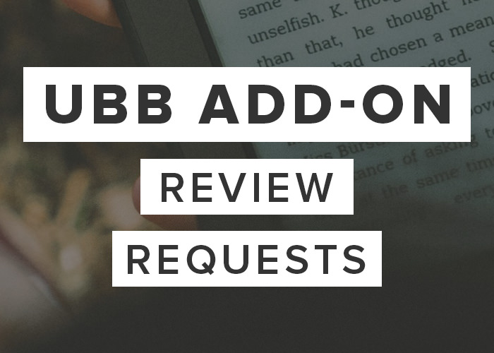 UBB Review Requests Add-On