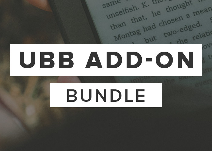 UBB Add-On Bundle